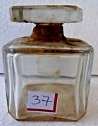 Vintage Perfume Glass Bottle Miniature Of Figene Made In France Collectibles 37