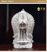 20and039and039 Chinese Dehua White Porcelain Thousands Hands Guanyin Kwan-yin Statue