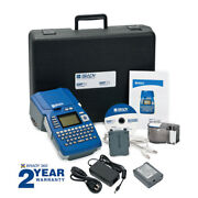 Brady Bmp51 Portable Label Maker, Includes Ac Adapter And Rechargeable Battery