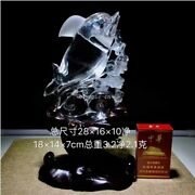 11and039and039 Natural 100 Rock Crystal Quartz China Feng Shui Wealth Animal Dolphin