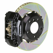 Brembo Bbk For 93-95 Civic Ex Coupe / W/ Disc And   Front 4pot Black 112.6005a1