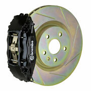 Brembo Gt Bbk For 05-14 Mustang V6 Excl. Non-abs | Front 4pot Black 1b5.8001a1
