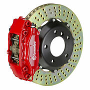 Brembo Gt Bbk For 05-08 Mini Cooper / S | Front 4pot Red 1c1.6001a2