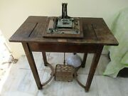 Antique Kodak Printer Table London Made In Great Britain Wooden Collectibles F