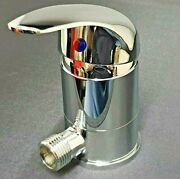 Chrome Caravan Shower Mixer Tap Outlet 1/2 With Swivel Non Microswitched T80