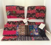 Pottery Barn Apple Blossom Patchwork Quilt Pillow Cover Pauline Boyd New