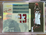 Lebron James 2009 Absolute Frequent Flyer Jersey Patch D 5/5 Rare 1/1 Non Auto