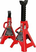 Torin T43002 Big Red Steel Jack Stands 3 Ton Capacity 1 Pair 3