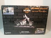 Telemania Harley Davidson Telephone Display Collectable 2002 Vroom Sound Effect