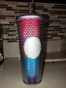 Starbucks Rainbow 24oz. Tumbler   Summer Collection   Sold Out 🌈 Brand New