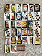 Ultra Rare Vintage Wacky Packages Complete Set 5th Series Peak Condition