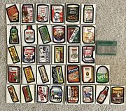 Ultra Rare Vintage Wacky Packages Complete Set 7th Series Peak Condition