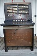 Vintage Bell System Western Electric Telephone Switchboard