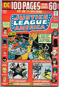 Justice League Of America 111, Dc 1974 100-pager Wein / Dillin Jsa Vfnm