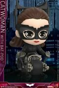 Hot Toys Cosbaby Catwoman W/batpod Mini Figure Model Toys Cosb725 Collectible
