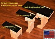 Walk The Plank Mouse Trap And Rat Trap - Auto Reset - Usa Made Bucket Trap