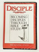Disciple Becoming Disciples Through Bible Study Training Dvd Small Group Leaders