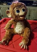 2012 Furreal Friends Cuddles My Giggly Monkey 16 Interactive Works Large