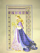 Completed Cross Stitch Lavender And Lace Ll50 Celtic Spring