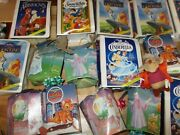 Mixed Lot 54 Mcdonalds Walt Disney Happy Meal Toys Masterpiece Collection Furby