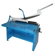 Metaltech Tools Manual Guillotine Shear With Stand 36 X 16 Gauge