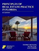 Brand New Principles Of Real Estate Practice In Florida 1st Edition Textbook
