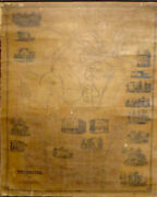 E.m. Woodford Map Of Winchester Litchfield County Ct 1852 Very Good 47x37