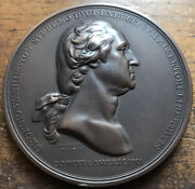 Old Bronze Medal General George Washington Before Boston Mint Sold Out