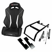 Beard V2 Torque Front Seat With Mount For 2016-2017 Can-am Maverick Max 1000