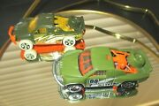 2004 And 2014, Hot Wheels, Off Track Race Trucks, 164 Scale, Loose, Age 3+, Euc