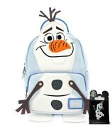 Loungefly Frozen Olaf Mini Backpack And Disney Pin Small Gift Included