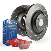 Ebc Brakes S4kf1493 S4 Kits Redstuff And Usr Rotor Fits 00-07 Sequoia Tundra