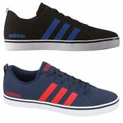 Adidas Pace Mens Vs Trainers Shoes Footwear Laces Ankles Rrp Andpound59.99