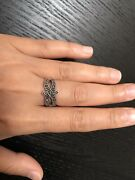 Yemeni Womens Silver Ring Differenr Shape Woth Marcasite Stones