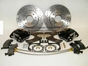 Gm G-body Wilwood Rear Disc Brake Conversion Kit Drilled And Slotted Rotors 78-88