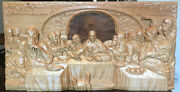 Religious Art Jesus Christ Last Supper Wood Carved - Christian Life