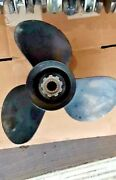 115hp 6 Cyl. Mercury Outboard Early 1970s Prop 13.25 X 17