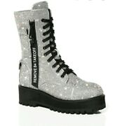 Dolls Kill Poster Girl Billionaire Bling Boots Limited Edition Sold Out Size 10