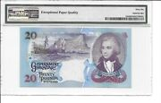 Gibraltar 2006 Banknote Andpound20 P33a Gem Uncirculated 66 Epq. Magnificent And Scarce