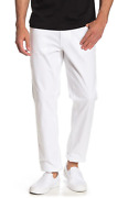 Parker Stretch Twill Grant Classic Fit Pants White Size 33