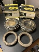 Lands S-7 Delco Wheel Bearing Set Of 2 Front New For Chevy Le Sabre