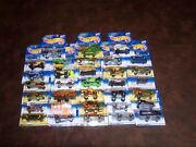 Hot Wheels - 33 Car Lot - Virtual Collection - Great Lot Of Cars All New