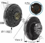 Electric Fan Clutch For Volvo And Mack Part 85115603-810.62231