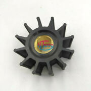 Flexible Impeller For Jabsco 14281-0001 Replacement 12 Blades Double Flat Drive