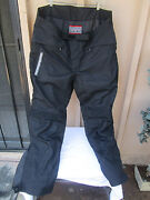Moto Boss Motorcycle Pants Size Xxl Textile Heavy Weight With Liner