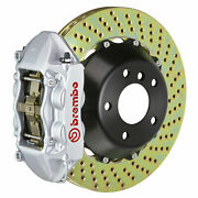 Brembo Gt Bbk For 08-13 G37s Coupe | Rear 4pot Silver 2p1.8021a3