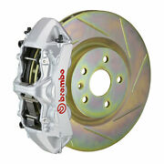 Brembo Gt Bbk For 05-14 Mustang Gt   Front 6pot Silver 1m5.8001a3