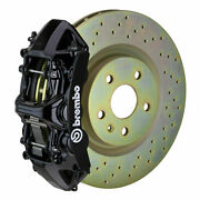 Brembo Gt Bbk For 05-14 Mustang V6 Excl. Non-abs | Front 6pot Black 1m4.8001a1