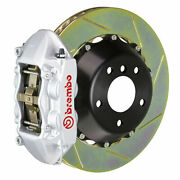 Brembo Gt Bbk For 08-13 G37 Coupe | Rear 4pot Silver 2p2.8021a3