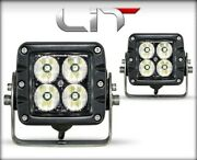 Edge Products White Lit Led Pod Pair 10 Watt Flood Lights With Power Switch